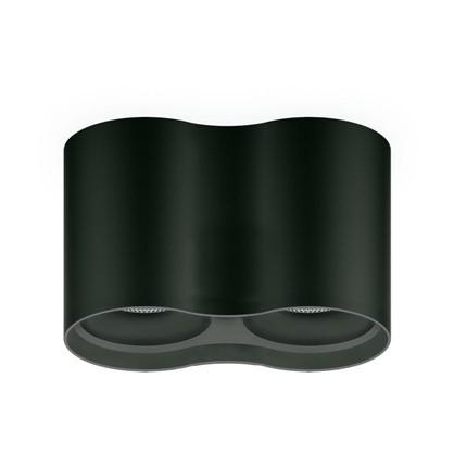 Купить Накладной светильник светодиодный 24 Вт 3000 К цвет черный свет теплый белый дешевле