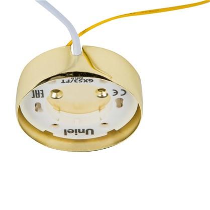 Накладной светильник Uniel GX53x16 Вт цвет золото