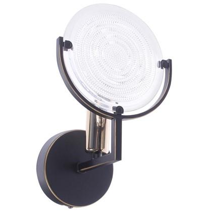 Купить Светильник настенный Genry 1275 1хE14х60 Вт цвет кофе дешевле