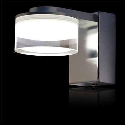 Купить Светильник настенный светодиодный Escada 1х3 Вт IP44 стекло цвет хром дешевле