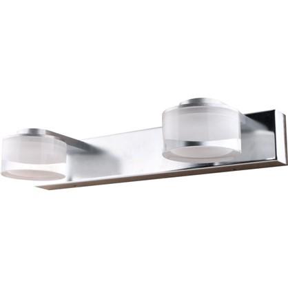 Светильник настенный светодиодный Escada 2х3 Вт IP44 стекло цвет хром