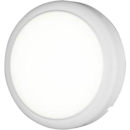 Светильник настенный светодиодный круг 18 Вт цвет белый