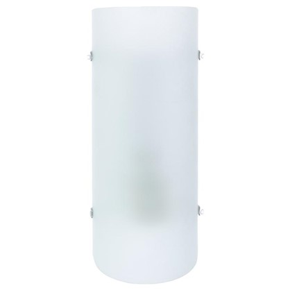Светильник настенно-потолочный Hanko 1xE27x60 Вт стекло цвет матовый/белый