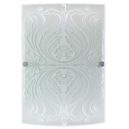 Светильник настенно-потолочный Korda 1xЕ27x60 Вт цвет белый/хром