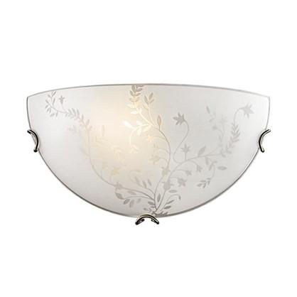 Светильник настенно-потолочный Kusta 1xE27x100 Вт цвет белый/бронза