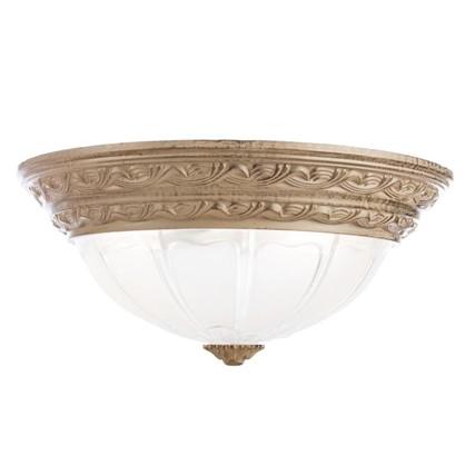 Светильник настенно-потолочный Piatti 2xE27x40 Вт цвет белый