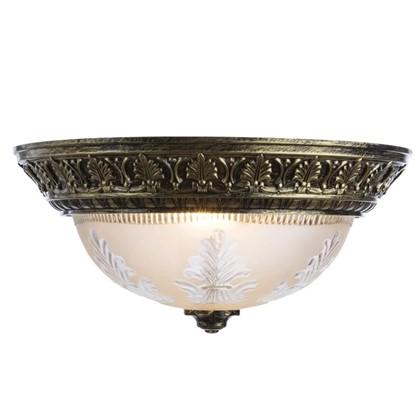 Купить Светильник настенно-потолочный Piatti 2xE27x40 Вт цвет бронза дешевле