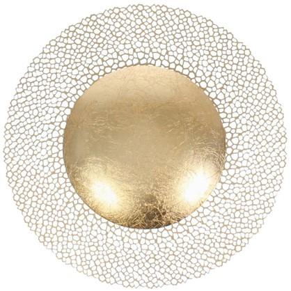 Светильник настенно-потолочный Solario 3559/18L 18 Вт цвет золотой