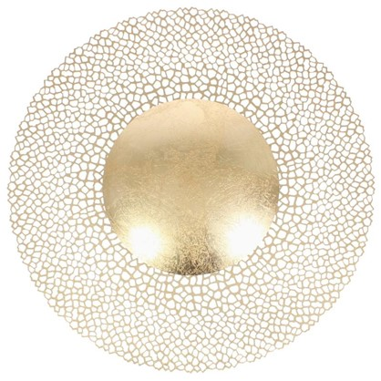 Светильник настенно-потолочный Solario 3559/24L 24 Вт цвет золотой