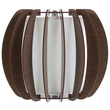 Светильник настенно-потолочный Stellato3 1xE27x60 Вт 25 см цвет коричневый