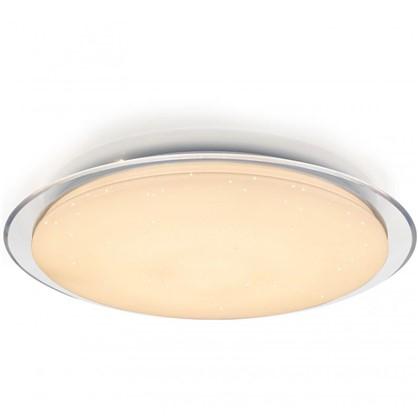 Купить Светильник настенно-потолочный светодиодный 60 Вт 58 см цвет белый пульт дешевле