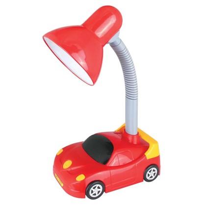 Светильник настольный Car KD-383 1хЕ27х40 Вт цвет красный