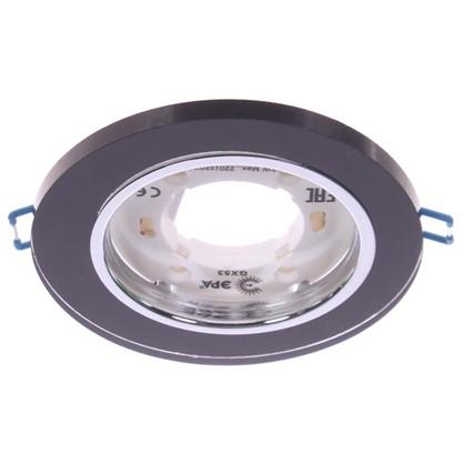 Купить Светильник под лампу GX53 Эра 220 В 13 Вт цвет черный дешевле