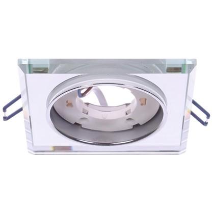 Светильник под лампу GX53 Эра 220 В 13 Вт цвет зеркальный