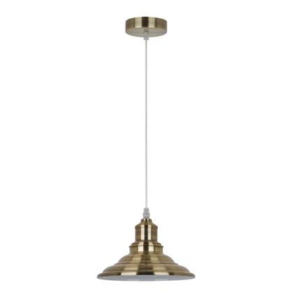 Светильник подвесной Cymbal PL-600 1xE27x40 Вт 2 м² цвет старинная медь