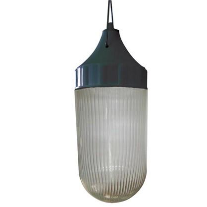 Светильник подвесной Конус 1xE27х60 Вт цвет черный IP53