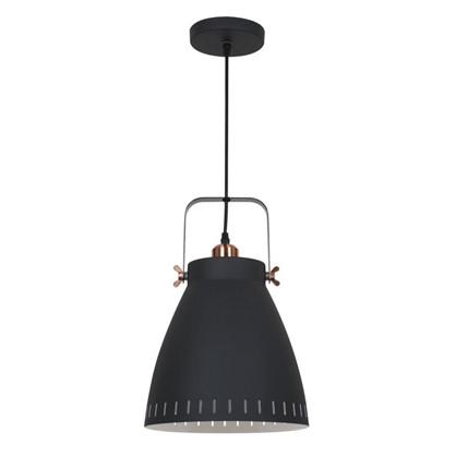 Светильник подвесной New York PL-428L 1xE27x60 Вт 3 м² цвет черный