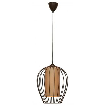 Светильник подвесной Восторг 1xE27x60 Вт 3 м² цвет венге