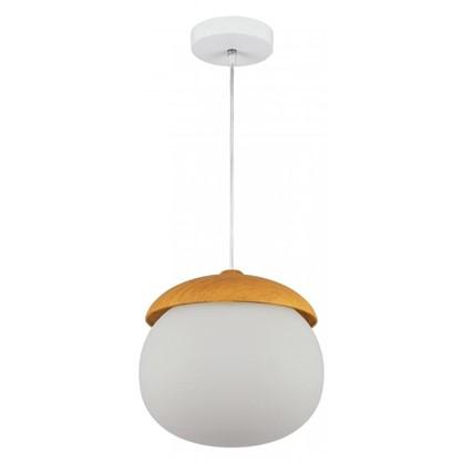 Светильник подвесной Woody PL40WE27-03 1хЕ27х40 Вт цвет белый/дерево