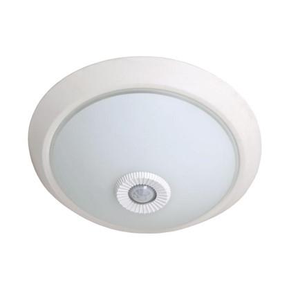 Купить Светильник потолочный НПО 2хE27 31 см с датчиком движения дешевле