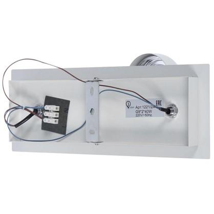 Светильник поворотный J-Light Goss 1221/2A 2хG9х40 Вт цвет белый/хром