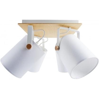 Купить Светильник поворотный TK Lighting Relax White 1615 4хЕ27х60 Вт дешевле