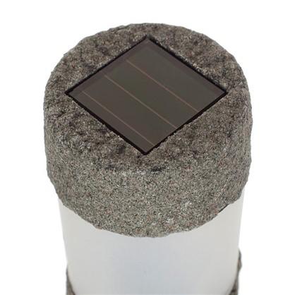 Светильник садовый светодиодный Solar 0.06 Вт цвет серый IP65