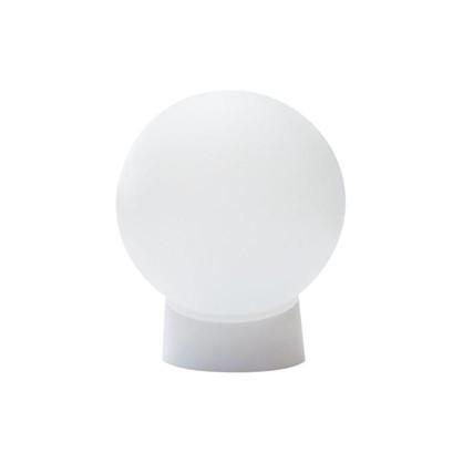 Купить Светильник шар НББ 1хЕ27х60 Вт пластик цвет белый дешевле