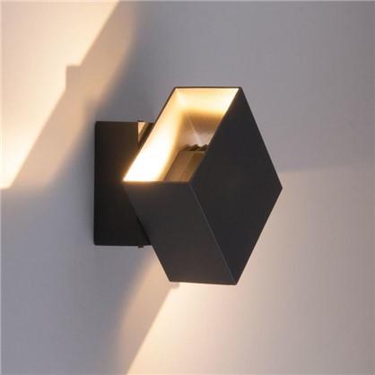 Светильник светодиодный фасадный Techno 1607 6 Вт цвет черный