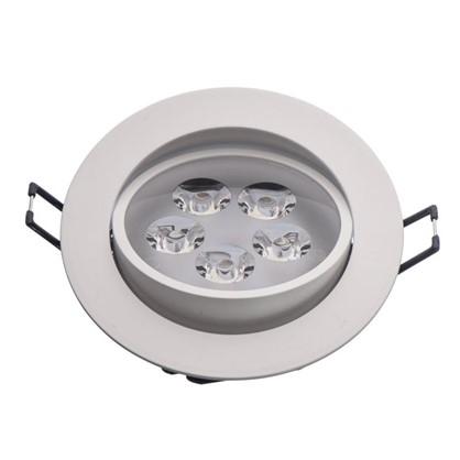 Светильник светодиодный Круз 5х1 Вт 220 В IP44 цвет белый