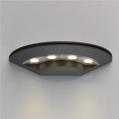 Светильник светодиодный Меркурий 1х8 Вт 220 В IP44 цвет графит