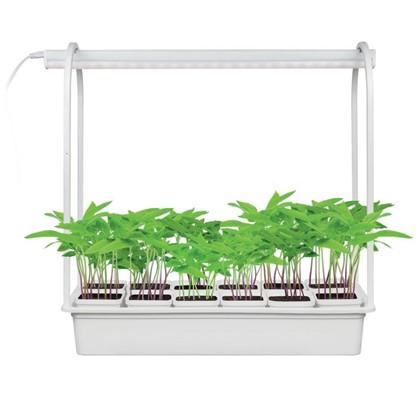 Светильник светодиодный Минисад для растений 10 Вт 12 кашпо