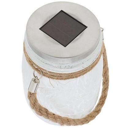 Светильник светодиодный на солнечных батареях 1x006 Вт цвет белый