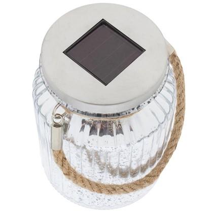 Светильник светодиодный на солнечных батареях 2x006 Вт цвет прозрачный