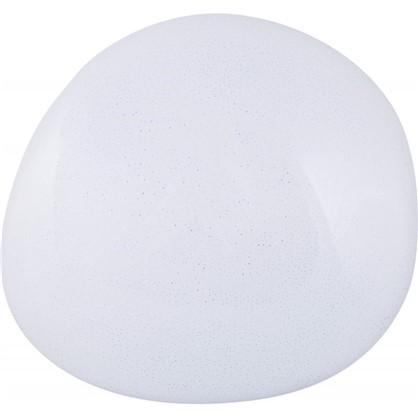 Светильник светодиодный с пультом управления Meteor 33 18 м² с диммером холодный белый свет цвет белый