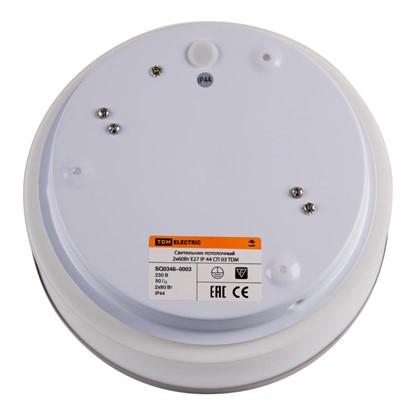 Светильник TDM Electric Круг 2xE27х60 Вт IP44