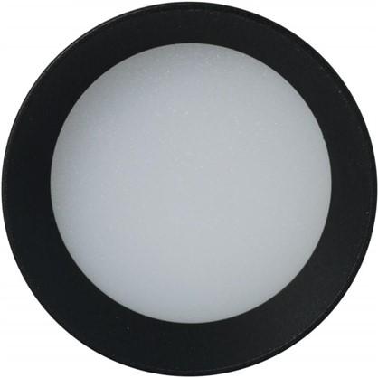 Светильник точечный накладной LED22 79 мм 2.8 м² белый свет цвет черный матовый