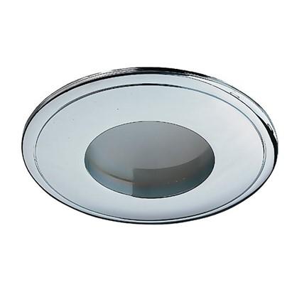 Светильник встраиваемый Aqua цоколь GU5.3 50 Вт цвет хром IP65