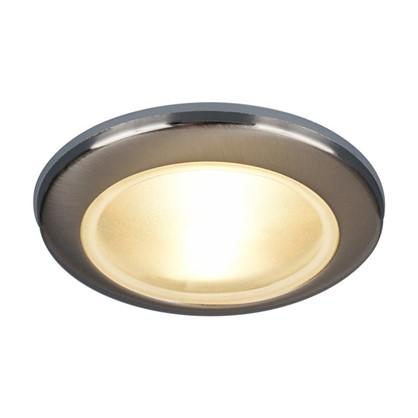 Купить Светильник встраиваемый Электростандарт Spruzzo цоколь GU5.3 50 Вт цвет хром IP44 дешевле
