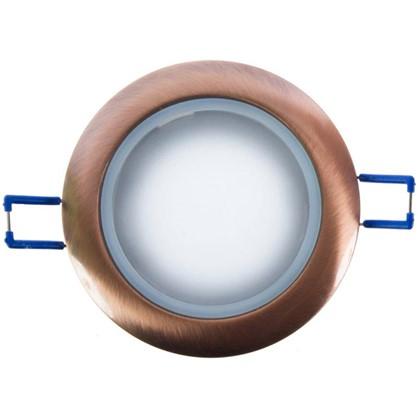 Светильник встраиваемый Электростандарт Spruzzo цоколь GU5.3 50 Вт цвет медь IP44