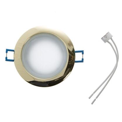 Светильник встраиваемый Электростандарт Spruzzo GU5.3 50 Вт IP44 цвет золотой