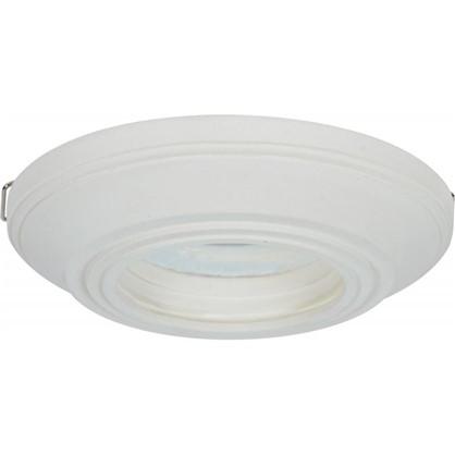 Встраиваемый светильник круглый Классика цоколь GU5.3 гипс