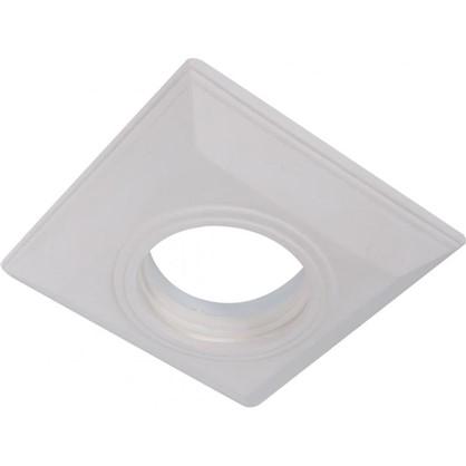 Встраиваемый светильник квадратный Классика цоколь GU5.3 гипс