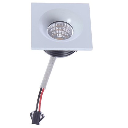 Встраиваемый светильник мебельный светодиодный 357701 3 Вт 160-265 В