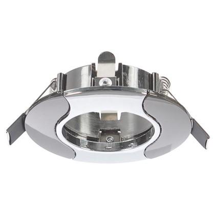 Встраиваемый светильник Onda 7006 GU 5.3 цвет хром/черный