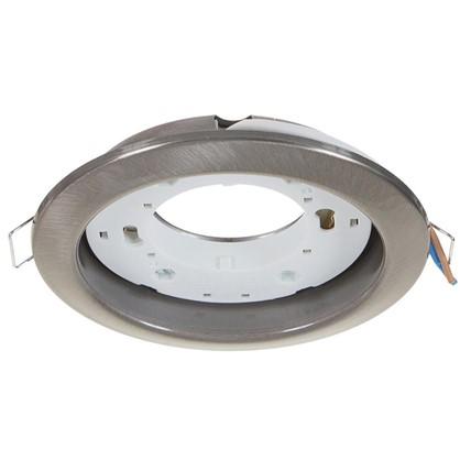 Купить Встраиваемый светильник R75 цоколь GХ53 13 Вт цвет сатин никель дешевле