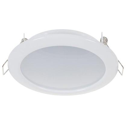 Купить Встраиваемый светильник светодиодный 6 Вт 4000K 550Лм 220В цвет белый дешевле
