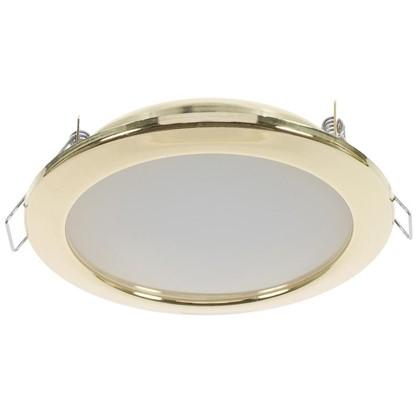 Купить Встраиваемый светильник светодиодный 6 Вт 4000K 550Lm 220В цвет золото дешевле
