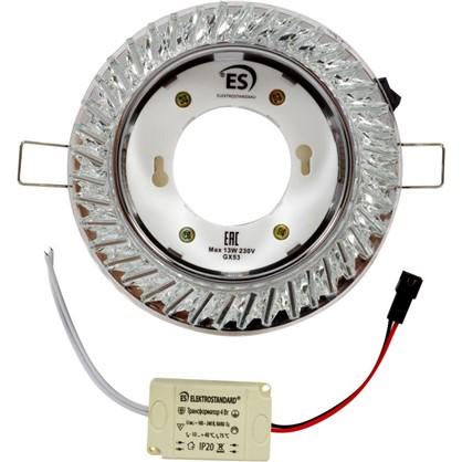 Встраиваемый светильник светодиодный Elektrostandard 3023 цоколь GX53 цвет прозрачный/белый