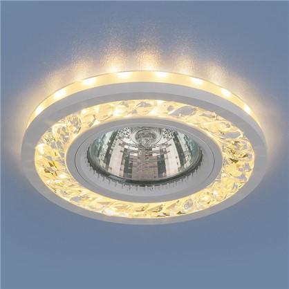 Встраиваемый светильник светодиодный Elektrostandard 8355 MR16 цвет прозрачный/белый